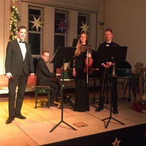 Kammermusiker der Berufsfachschule für Musik Sulzbach-Rosenberg mit Julian Schmitz an der Blockflöte