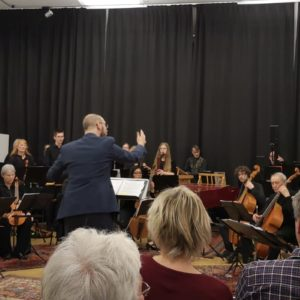 Julian Schmitz im Kammermusikensemble