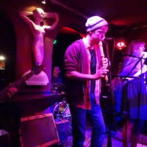 Julian Schmitz bei der Combo Night im Kaiserkeller Detmold